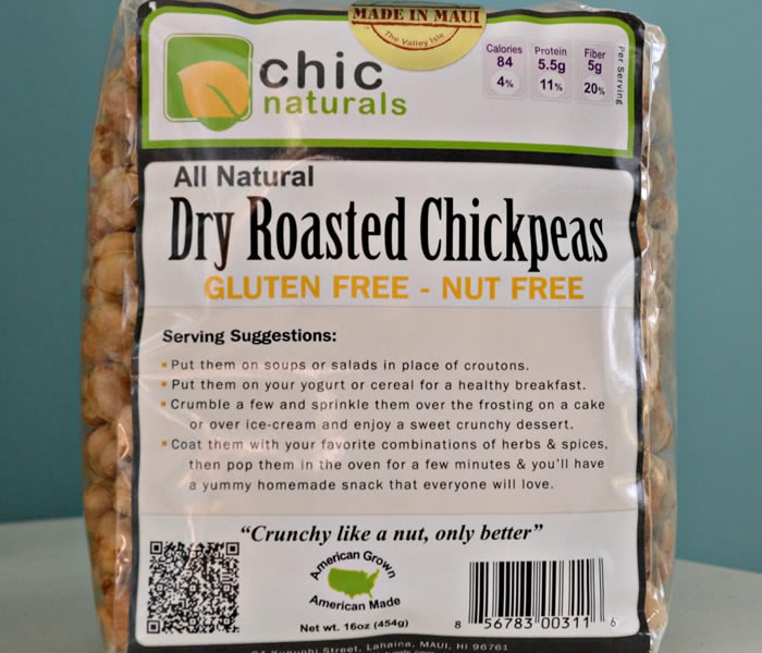 Dry Roasted Chickpeas